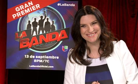 'La Banda' Premiere: Laura Pausini Talks Search Of Next ... Laura Pausini Baby Girl