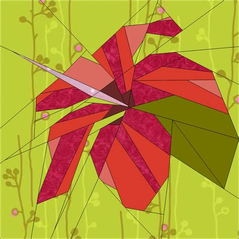 paper pieced flower pattern 139 best quilts flowers images on pinterest paper