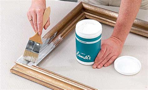 spiegelrahmen streichen alten bilderrahmen neu gestalten dekorieren selbst de