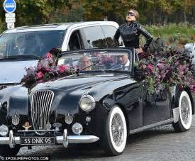 arriving in style lady gaga chose a vintage cadillac to take her to lady gaga s former pa claims her demands for privacy are