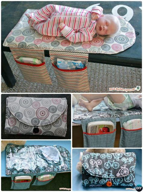 travel changing table baby changing pad travel clutch bag sew pattern