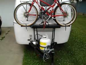 bike rack on back of casita fiberglass rv