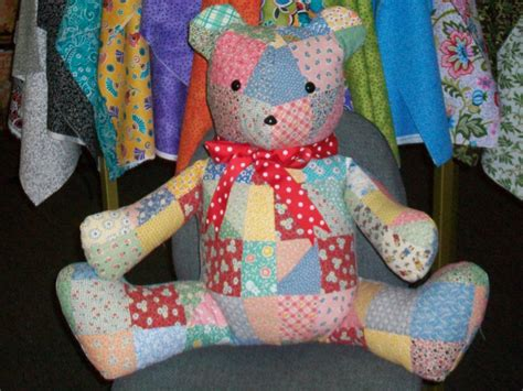 Patchwork Teddy Pattern - patchwork teddy