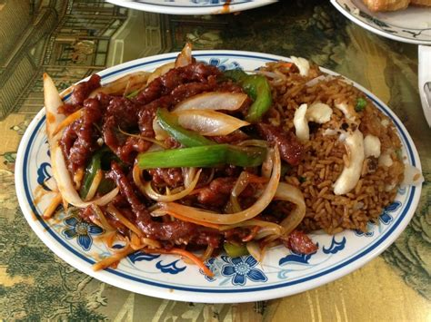 Fatima S Halal Kitchen by Lunch Special Szechuan Beef Yelp