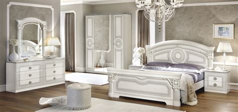 versace bedroom versace aida design italian 6 item bedroom set in white