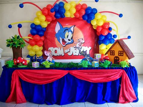 Party Decorations At Home tom and jerry birthday party theme ideas archives