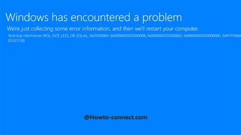 install windows 10 blue screen bsod windows 10 blue screen error fix pull through tips