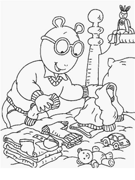 coloring page arthur free printable arthur coloring pages for kids