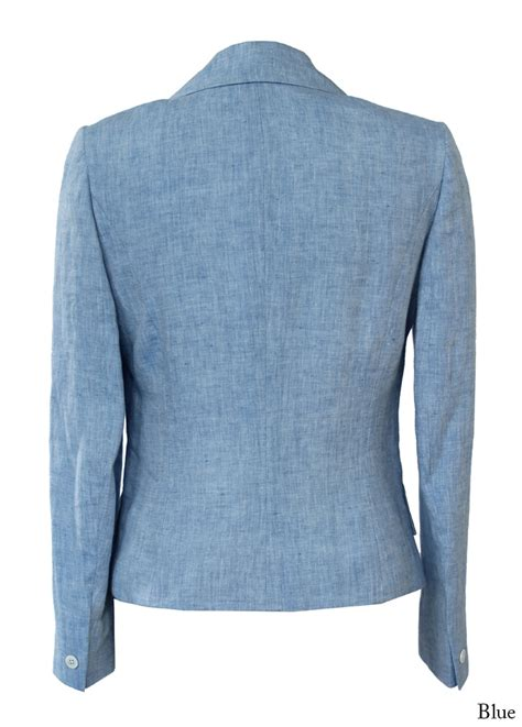 light blue linen jacket bladen cantley light blue linen jacket