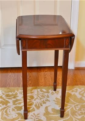 copley square bedroom furniture copley square drop leaf table by hekman furniture co
