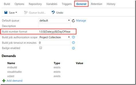 php date format generator generate custom build numbers in tfs build vnext blog ehn nu