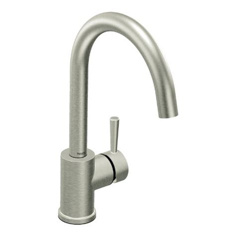 moen level kitchen faucet gt black friday moen 7100csl level one handle high arc kitchen faucet classic stainless