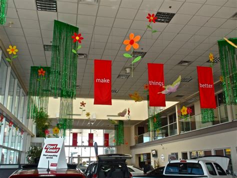 car showroom decorations bubblz