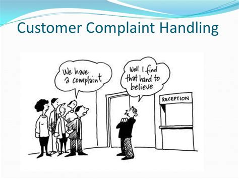 Handling A Complaint Letter Customer Deal With Conflict Situations Ppt