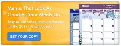 7 Accessories To Spice Up Your School by How To Spice Up Your School Menu Calendars In 7 Steps