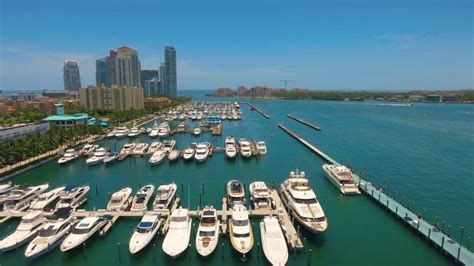 yacht miami beach marina youtube