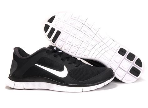 womens black and white running shoes s nike free run 4 0 v3 black white running shoes uk