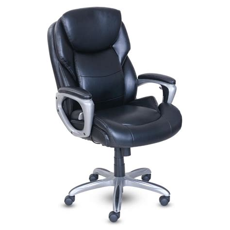 home  fit executive office chair  active lumbar support  ebay