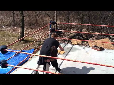 backyard wrestling 3 unw backyard wrestling jamie vs koree extreme rules 1