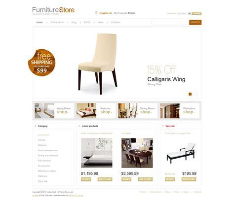 furniture virtuemart template 29432