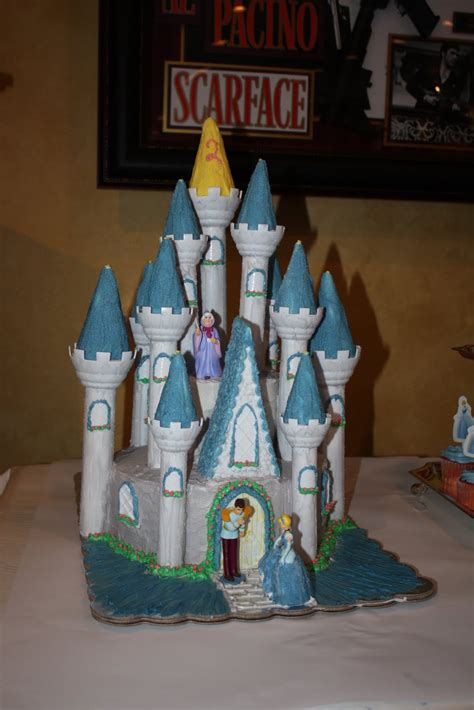 silly monkey cakes cinderellas castle cake