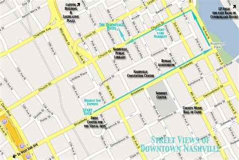 downtown nashville map nashville views downtown nashville tour with photos