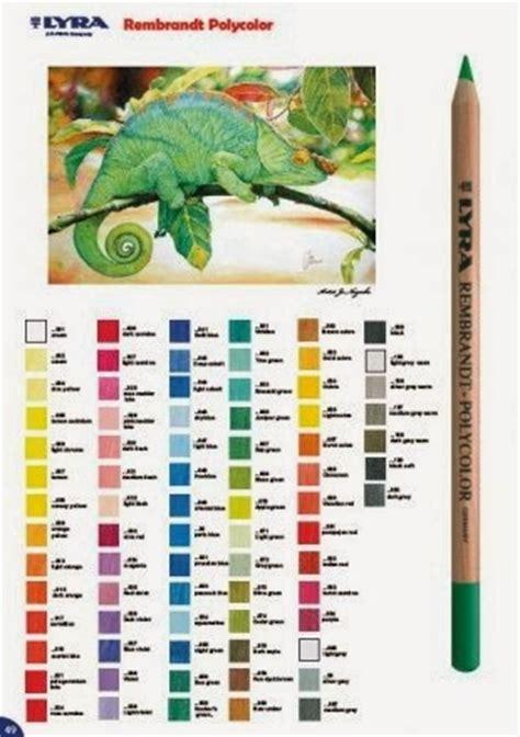 Lyra Kuas Set artgraphicstore lyra rembrandt polycolor color chart