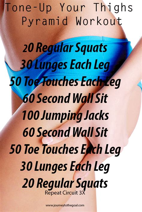8 Exercises To Tone Your Legs by Tone Up Your Thighs Summer Ready Workout Motives