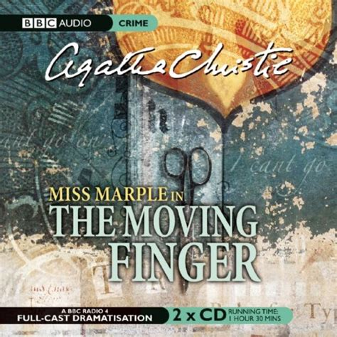 libro the moving finger miss libro the moving finger a bbc full cast radio drama di agatha christie