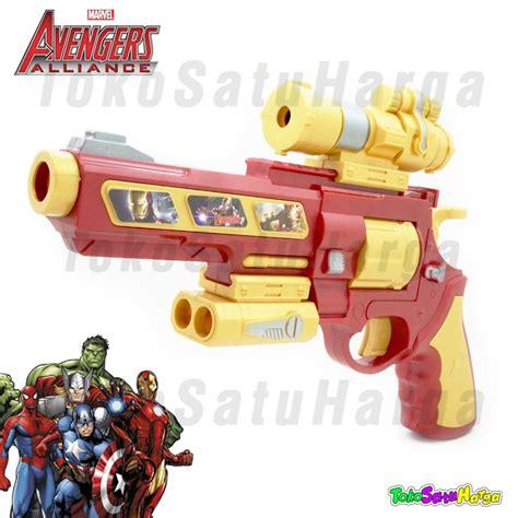 Mainan Pistol Peluru Busa Iron buy free shipping jabodetabek mainan pistol model nerf