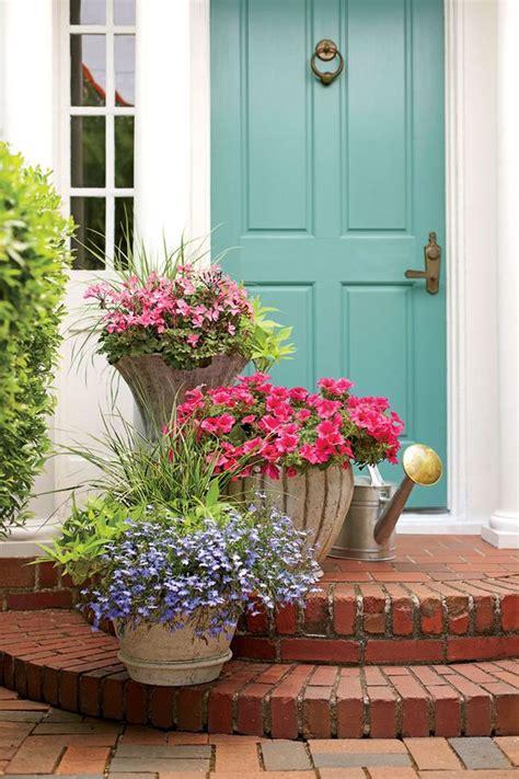 front door flower pots   mesmerize