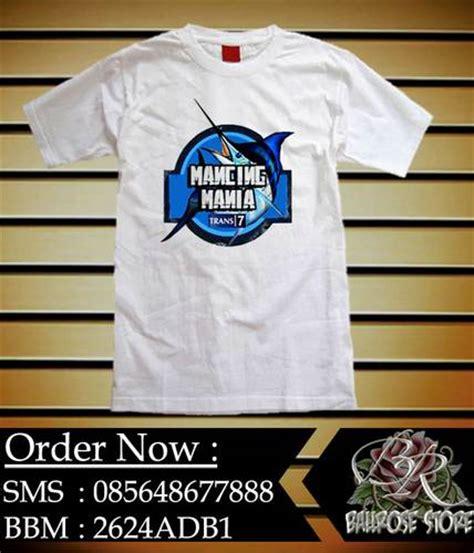 Kaos Vyanisty Kode Vya Sayang logo mancing mania