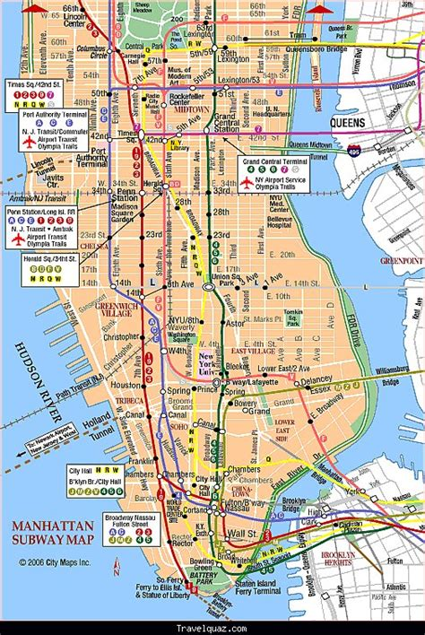 map of manhattan ny attractions maps update 58022775 new york tourist map printable
