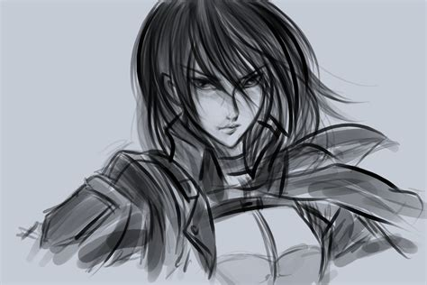 Speed Sketches Q A Update by Mikasa Speed Sketch By Sunnyrays On Deviantart