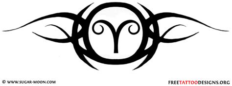 tribal aries tattoos designs 35 aries tattoos ram designs