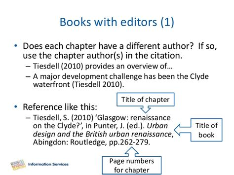 reference to book chapter citing referencing harvard