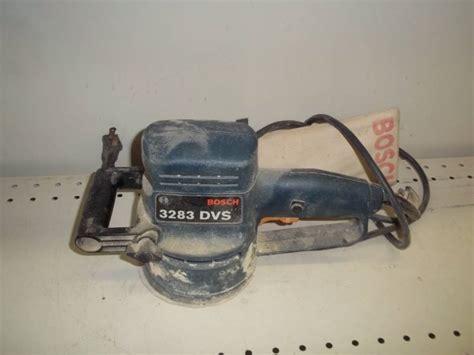 D Inspection 3283 by Bosch Sander Model 3283 Dvs Advanced Sales Vintage Wood