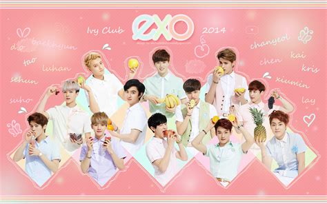 wallpaper boy band exo exo korea boy band 01 wallpaper exo pinterest exo
