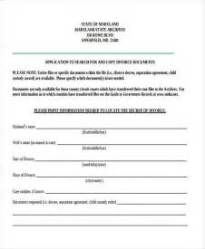 separation papers template doc 400518 separation agreement form marriage