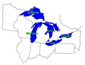 eek great lakes map