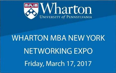 Mba Event Management New York by Wharton Alumni Club Of New York