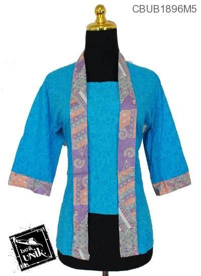 Kebaya Kutu Baru Kembang blus tanggung kutu baru motif kembang ceplok blus tanggung murah batikunik