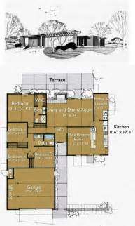 homes floor plans build an eichler ranch house 8 original design house