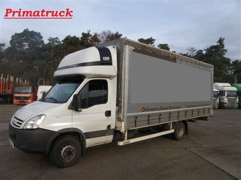 curtain side van sale iveco daily 65 c18 curtain side van from czech republic