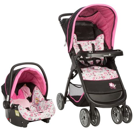 safety 1st disney amble travel system garden delight minnie ideal baby