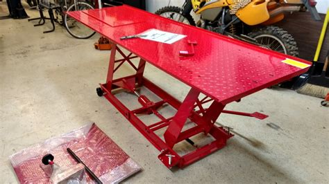 harbor freight motorcycle table lift 03102017