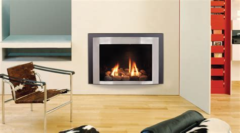 contemporary gas fireplace inserts decosee