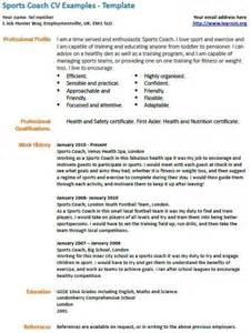 football coaching resume template 105 best images about sports coaching on sport
