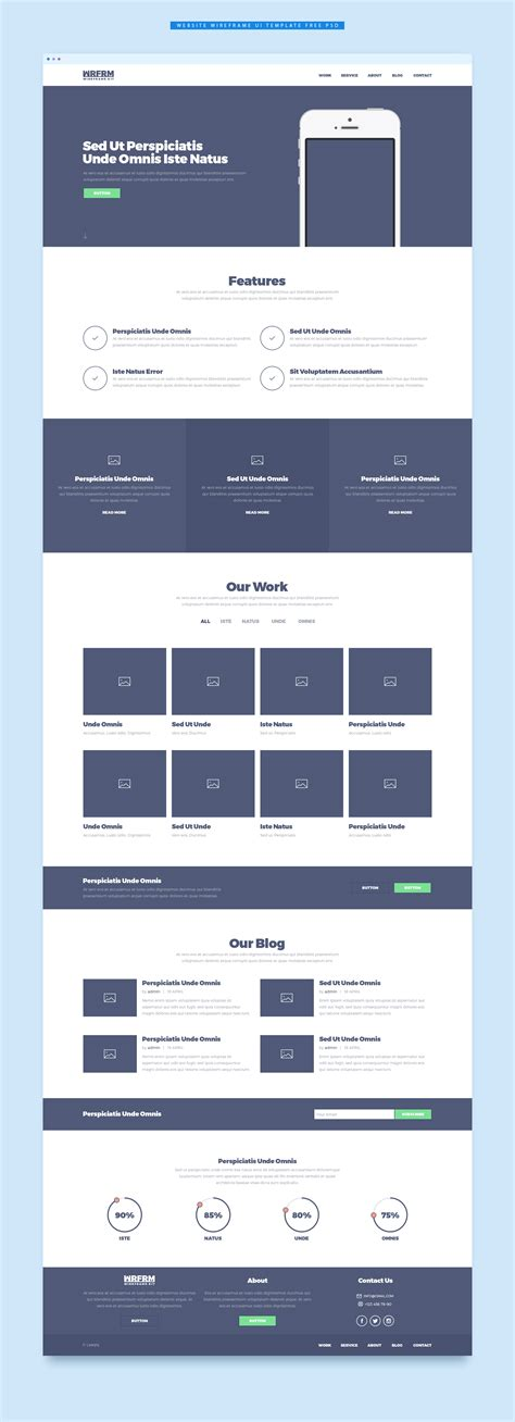 Download Free Website Wireframe Ui Template Free Psd Download Psd Download Free Psd Resources Free Website Wireframe Templates
