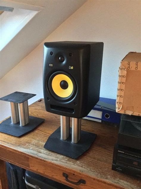 speaker desk stand alphason desktop speaker stands in southfields